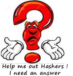 Question: What did Flasher bring back from the run? Clue...look at the pictures
