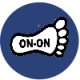 icon foot_blue_1